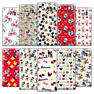 Cartoon Mickey&Minnie Mouse Kid Disney Pattern Phone Case Cover For Samsung