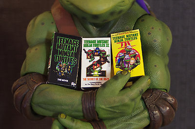 TMNT NINJA TURTLES COLLECTIBLE For Neca 1/4 Scale VHS Choose  Part 1, 2, or 3