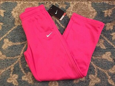 NWT NIKE Therma-Fit Pants Girl Size 6X-PINK~Warm & Soft