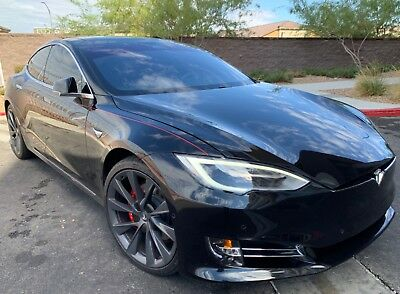 2018 Tesla Model S  2018 Tesla Model S P100D! Black On Black! Sharp!