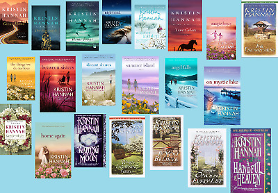 "➡️All 21 Novels by Kristin Hannah (""The Great Alone"", 20 More!) ELECTRONIC BOOKS"