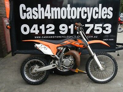 KTM 85cc 2014 MODEL NOT RUNNING SELLING AS/TRADED $1 AUCTION NO/RESERVE