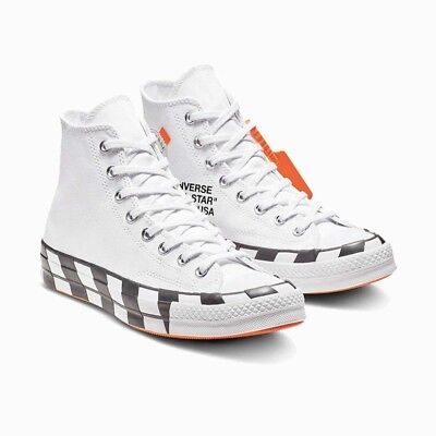 1fb2f64273287b 2018 CONVERSE X Off White Chuck Taylor All Star 70 Hi Sz 7 - 163862C ...
