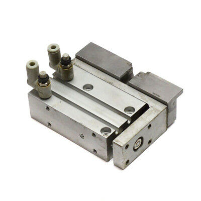 SMC Pneumatics MXU16-30 Guided Compact Air Cylinder Slide Table 30mm Stroke