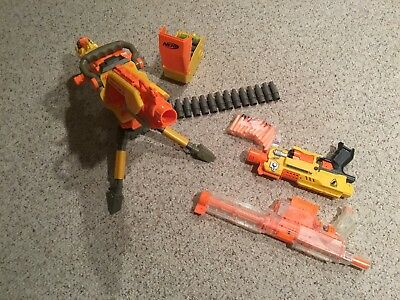 Nerf Dart Gun Collection Lot Fully Loaded