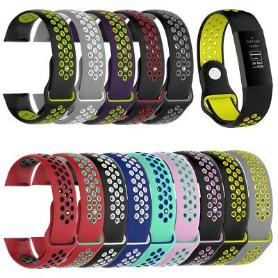 Pr Fitbit charge 3 Silicone Bracelet Montre sport Sangle Remplacement Watch Band
