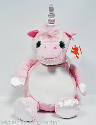 EB Embroider Whimsy Unicorn 16 Inch Embroidery Stuffed Animal