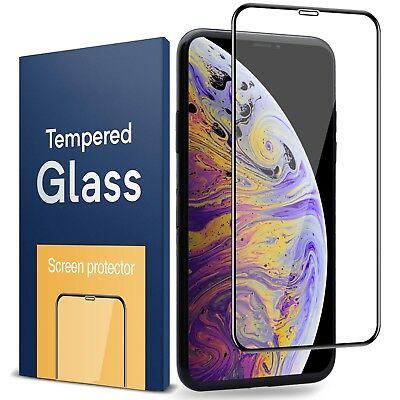 3D Curved Full Coverage Tempered Glass Screen For iPhone 6/6S/7/8 Plus X XS MAX