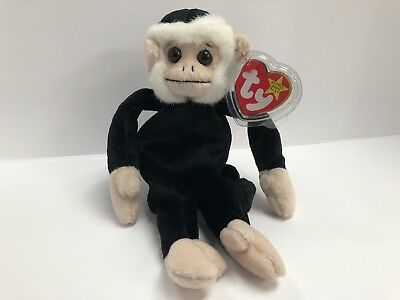 TY Beanie Baby Mooch (The Monkey) 1998 Retired - Rare w  Tag Errors 1bdaf3d27b2b