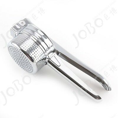 Stainless Steel Hand Held Potato Ricer Masher Fruit Vegetable Juicer Puree Tool