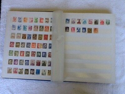 World Stamps - Sweden And Romania In Album