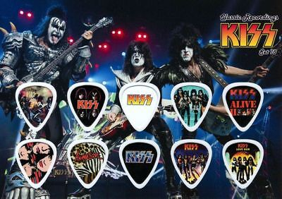 Kiss - A5 Size Limited Edition - Guitar Pick Display