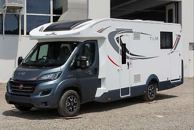 Motorhome Roller Team T-Line 740, 2019, 4 berth, luxury fixed island bed, WR