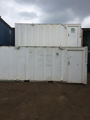 20ft x 8ft Storage / Shipping Container office - North Wales