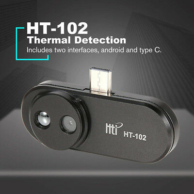HT-102 Type-C Mobile Phone IR Infrared Thermal Imager Camera for Android Phone