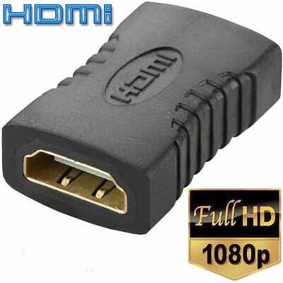 1Pc HDMI Female To Female Extender Adapter Coupler Connector F/F For HDTV