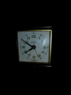 Alarm Clock Diehl, for, parts or restoration Mechanical