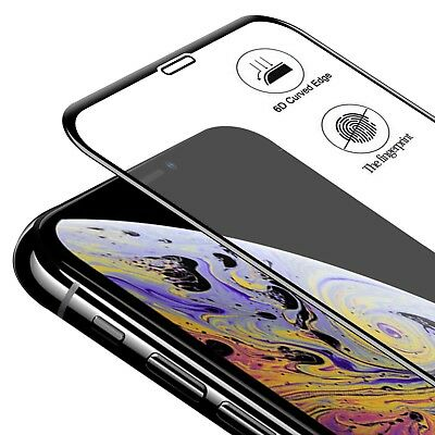 [Edge to Edge Coverage] Tempered Glass Screen Protector for iPhone XR XS Max X