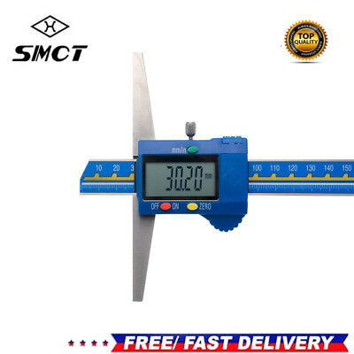 Digital Electronic Gauge Stainless Steel Vernier 200mm 8inch Caliper Micrometer