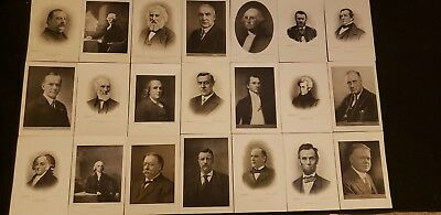 Vintage The Perry Pictures Company Presidents Lot Of 21
