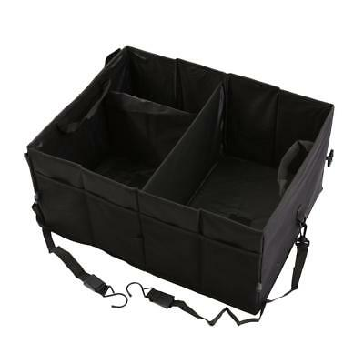 New Car Trunk Organizer Black Storage with Straps by Drive Auto Products