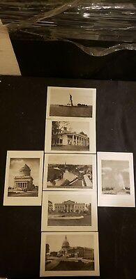 Vintage The Perry Pictures Company Historic Places Lot Of 7