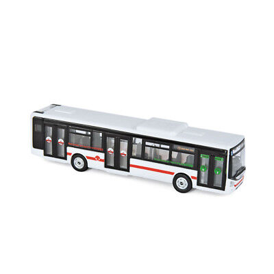 """Norev 530263 Iveco Bus Urbanway """"TCL"""" rot/weiss Maßstab 1:87 Modellauto NEU! °"""