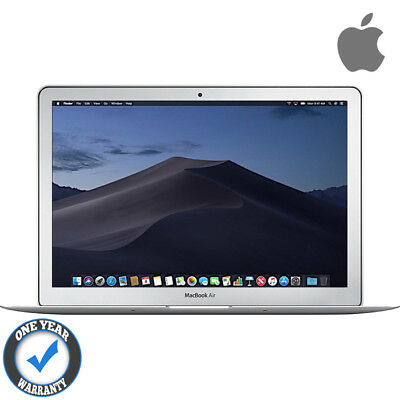 """APPLE MACBOOK AIR POWERFUL CORE i5 4GB RAM 64GB SSD SOLID STATE 11.6"""" OS MOJAVE"""