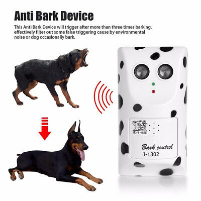 Ultrasonic Stop Control Dog Anti Barking No Bark Silencer Hanger Training Device