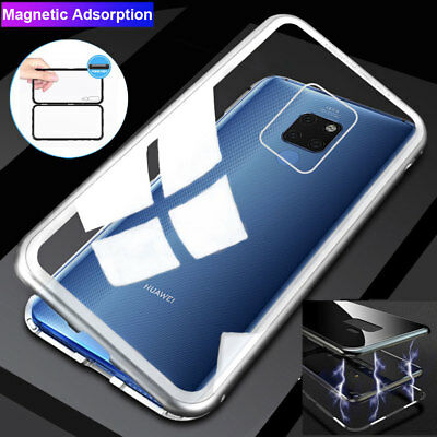 360 Magnetic Adsorption Case for Huawei Mate 20 Pro/Y9 P Smart 2019 Armor Cover