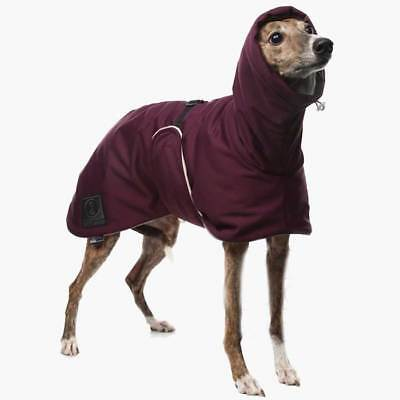 DG Dog Gear Outdoor Softshell Warm Coat for Greyhound Whippet Saluki Sighthound
