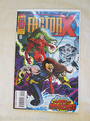 Marvel Comics X-Men April 2 Factor X After Xavier The Age of Apocalypse Ungraded