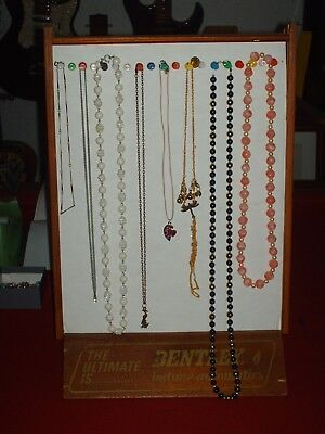 Estate sale jewelry lot of 8 vintage to now necklaces