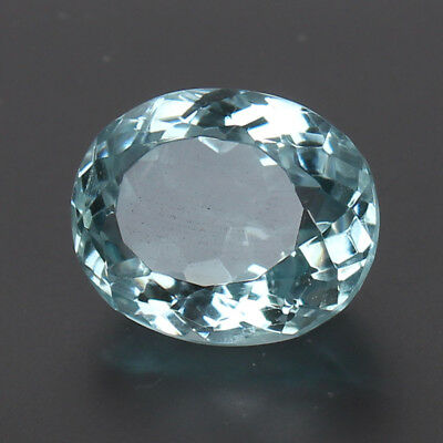 20.50 Ct Natural Aquamarine Greenish Blue Color Oval Cut Loose Certified Gem