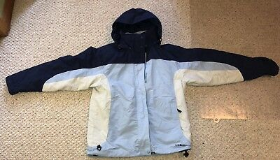 L.L. Bean 2 In 1 Outdoor Hoodie women Jacket And Fleece size S winter coat warm
