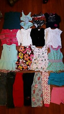 Girls 3/3T Clothes Lot of 21