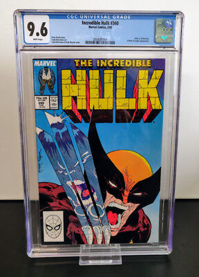 Incredible Hulk #340 CGC 9.6 - Newsstand - McFarlane Marvel 1988 - 15% OFF CODE!