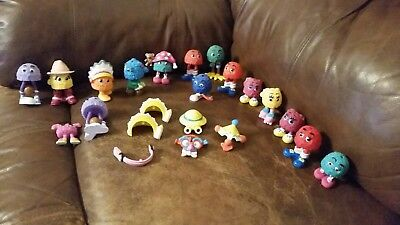LOT OF 22 VINTAGE McDonald's Characters Happy Meal Toys ~ Hamburgler Fry Guys