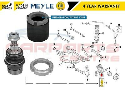 For Mercedes Ml W163 Rear Lower Suspension Arm Meyle Ball Joint Fitting Tool