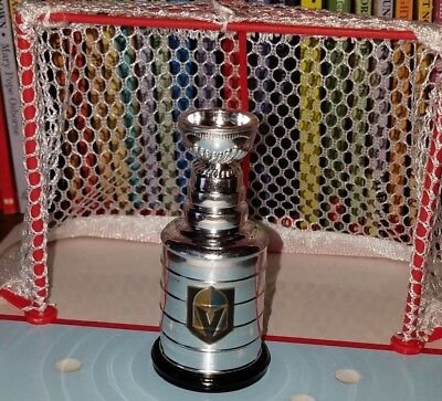 las VEGAS golden KNIGHTS mini LORD stanley CUP playoff TROPHY hockey NHL replica