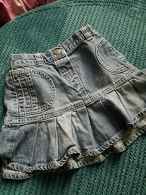 girl 12-18 months girl denim skirt from next