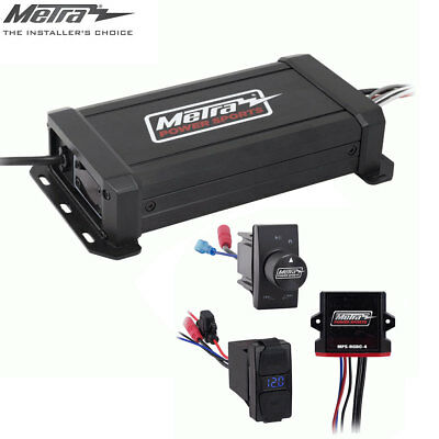 Metra Powersports 2-Ch Amp 3-in-1 Wireless Audio + Lighting Controller Kit RZR