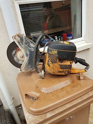 Partner k650 Spares or repair  DISC Cutter CONCRETE CUT OFF STONE SAW PETROL
