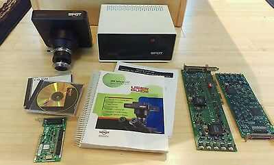 Spot Diagnostics Microscope Camera, PCI Boards, Power Supply, Software, Manual