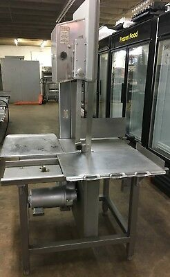 Hobart 5801 Vertical Meat & Bone Band Saw - Price Reduced!