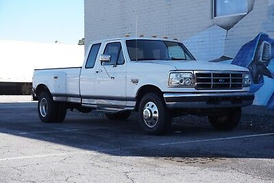 1996 Ford F-350 XLT 1996 Ford F-350 XLT 7.3L Powerstroke Diesel Dually Truck - No Reserve!