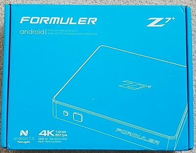 Formuler Z7+ Black 4K WiFi IPTV Android 7.0 | 2GB DDR4