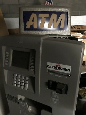 Cardtronics ATM Machine Works Great For Your Business Pre-Owned Auto Teller