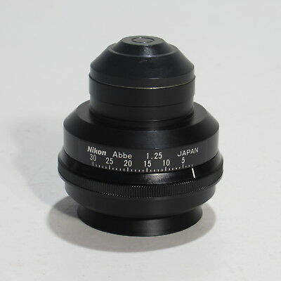 Nikon Abbe 1.25 Microscope Condenser For Optiphot, Labophot & Alphaphot