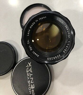 Pentax Asahi 50mm f1.4 Super Takumar Great Shots M42 Screw Mount